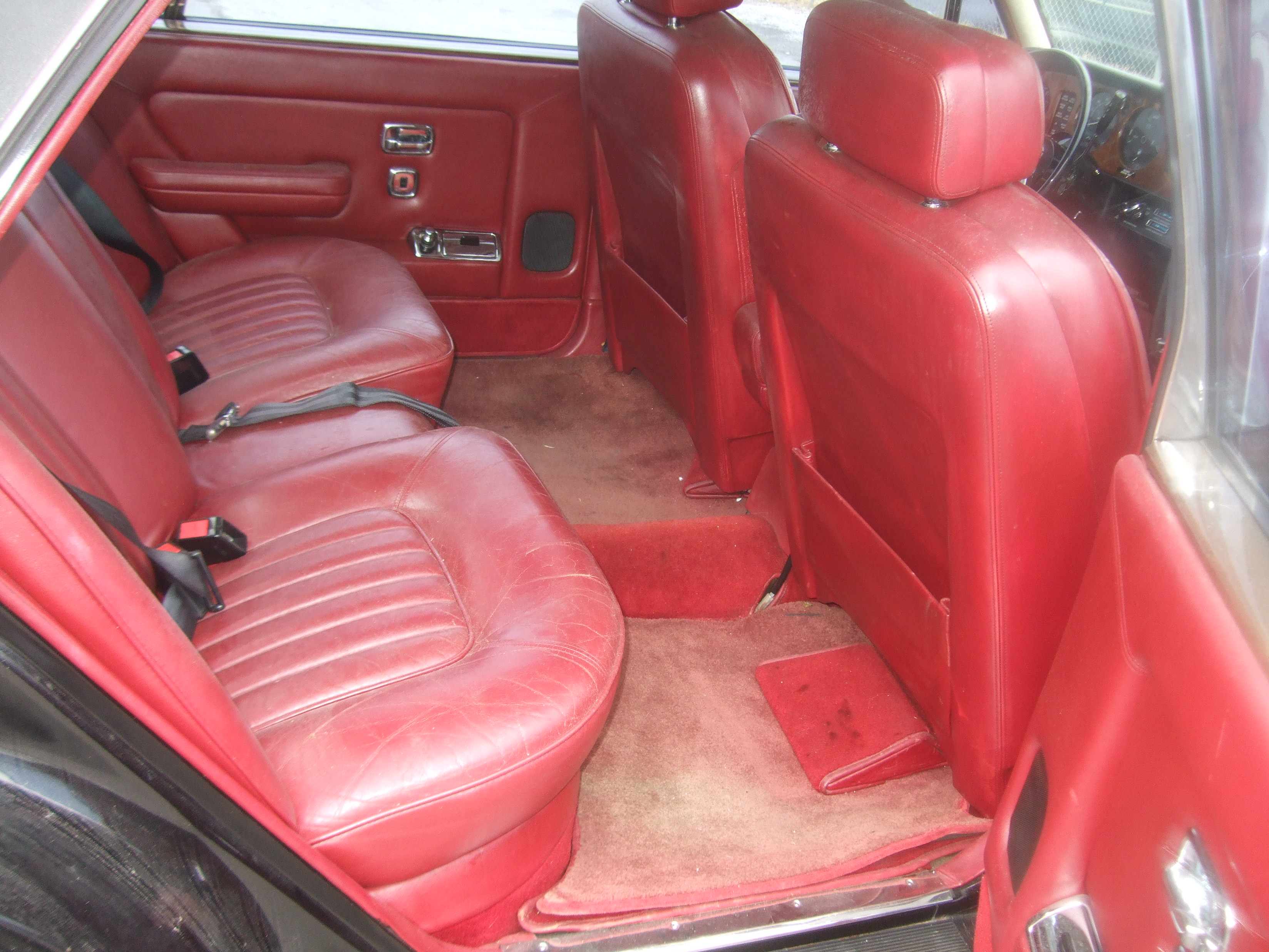 Rear seat right